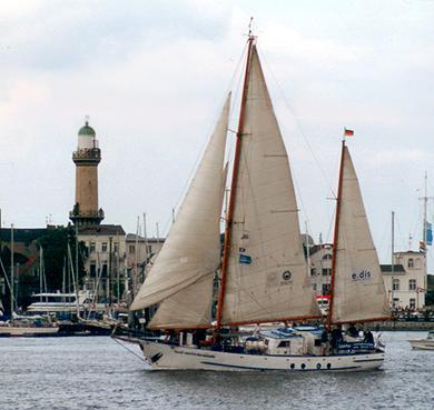 Greif von Ueckermünde, Volker Gries, Hanse Sail Rostock 2001 , 08/2001