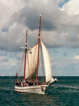 Tjur, Volker Gries, Hanse Sail Rostock 2001 , 08/2001