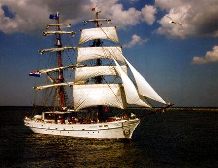 Aphrodite, Volker Gries, Hanse Sail Rostock 1997 , 08/1997