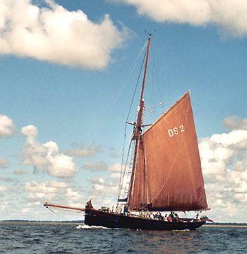Jolie Brise, Werner Jurkowski, Sail Esbjerg / Cutty Sark 2001 , 08/2001