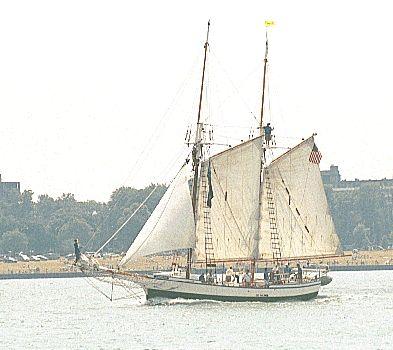 Madeline, Thad Koza (http://www.tallshipsinternational.net/), Sail Detroit 2001 , 07/2001