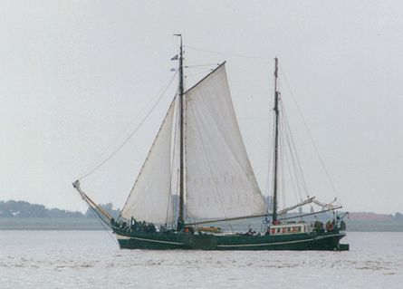 Wilhelmina, Volker Gries, Sail Bremerhaven 2000 , 09/2000
