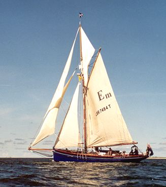 Eleanor Mary, Werner Jurkowski, Sail Esbjerg / Cutty Sark 2001 , 08/2001