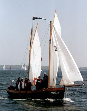 Merlin, Volker Gries, Rum-Regatta 2002 , 05/2002