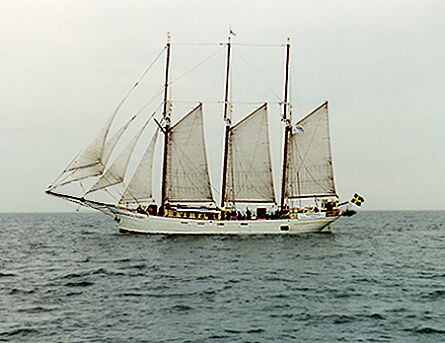 Kapitan Borchardt, Volker Gries, Hanse Sail 1996 / Cutty Sark 1996 , 08/1996