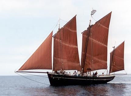 La Belle Angèle, Volker Gries, Sail Brest / Cutty Sark 2002 , 07/2002