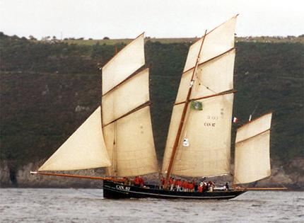 La Cancalaise, Volker Gries, Sail Brest / Cutty Sark 2002 , 07/2002