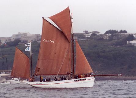 Belle Étoile, Volker Gries, Sail Brest / Cutty Sark 2002 , 07/2002
