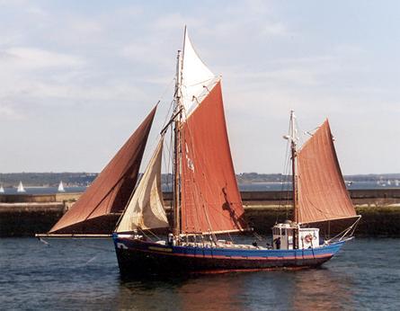 Fleur de Lampaul, Volker Gries, Sail Brest / Cutty Sark 2002 , 07/2002