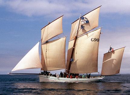 La Granvillaise, Volker Gries, Sail Brest / Cutty Sark 2002 , 07/2002