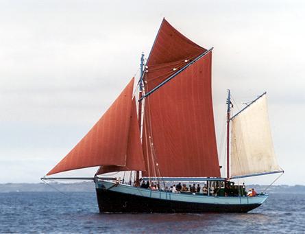 Notre-Dame de Rumengol, Volker Gries, Sail Brest / Cutty Sark 2002 , 07/2002