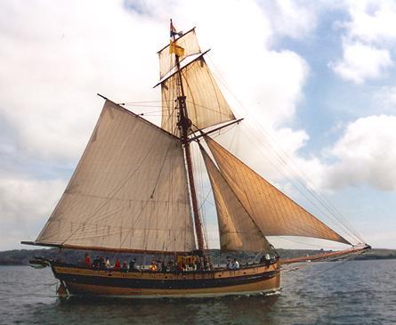 Le Renard, Volker Gries, Sail Brest / Cutty Sark 2002 , 07/2002