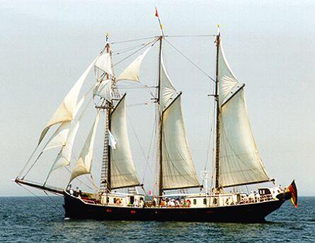 Salomon, Volker Gries, Hanse Sail Rostock 1997 , 08/1997