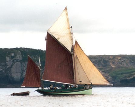 Sant C'hireg PL6488210, Volker Gries, Sail Brest / Cutty Sark 2002 , 07/2002