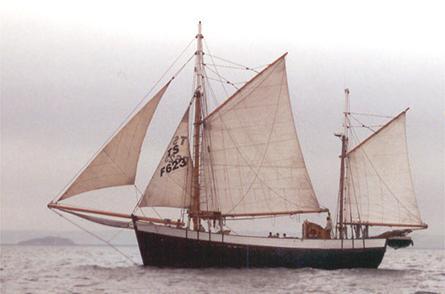 Tante Fine, Volker Gries, Sail Brest / Cutty Sark 2002 , 07/2002