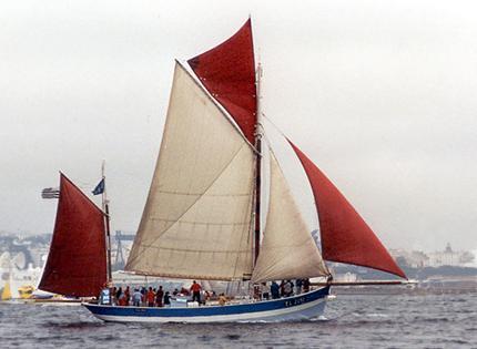 Vieux Copain, Volker Gries, Sail Brest / Cutty Sark 2002 , 07/2002