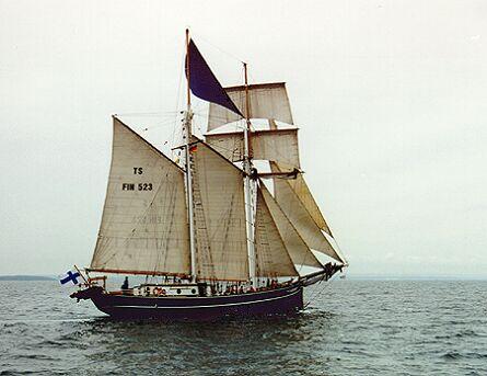 Tradewind, Volker Gries, Hanse Sail 1996 / Cutty Sark 1996 , 08/1996