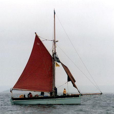 Golden Vanity, Volker Gries, Sail Brest / Cutty Sark 2002 , 07/2002
