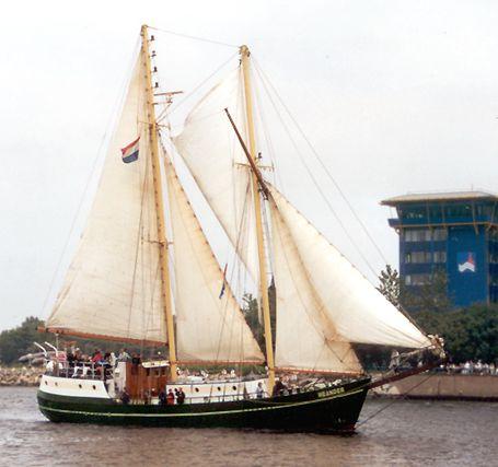 Meander, Volker Gries, Hanse Sail Rostock 2002 , 08/2002