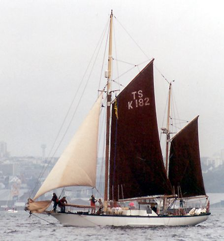 Morning Star, Volker Gries, Sail Brest / Cutty Sark 2002 , 07/2002