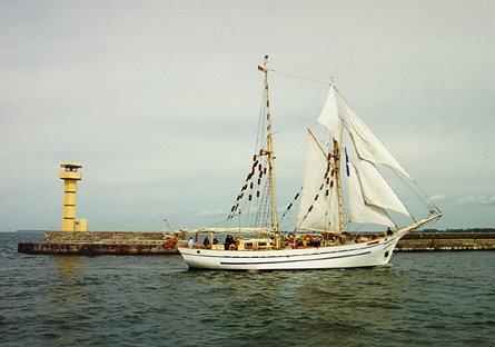 Freedom, Volker Gries, Hanse Sail 1996 / Cutty Sark 1996 , 08/1996
