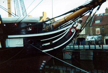 HMS Trincomalee, Tim Latham, Hartlepool , 10/2001