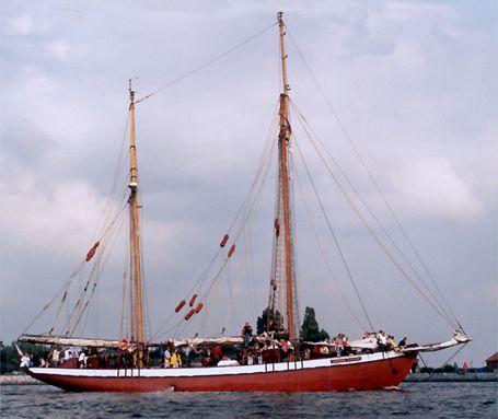 General Zaruski, Werner Jurkowski, Hanse Sail Rostock 2002 , 08/2002