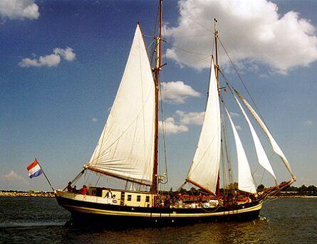 Zuiderzee, Volker Gries, Hanse Sail Rostock 1997 , 08/1997