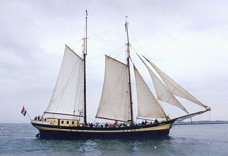 Zuiderzee, Volker Gries, Hanse Sail Rostock 1999 , 08/1999