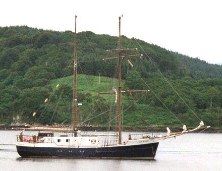 Jean de la Lune, Daniel Baxter, STA voyage Greenock-Dundee , 07/2002