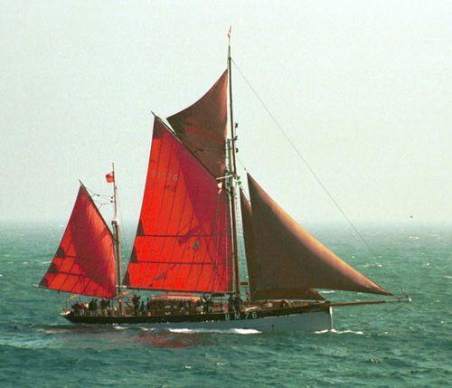 Vigilance of Brixham, Thad Koza (http://www.tallshipsinternational.net/), Gulf of Biscay , 09/2005