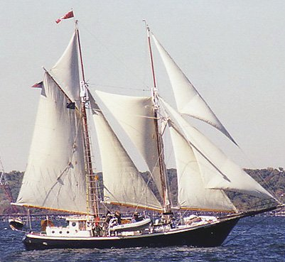 Bonnie Lynn, Ken Brack, Chesapeake Bay Schooner Race, Annapolis, Maryland , Oct. 2001