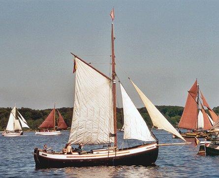 Else af Sletten, Volker Gries, Rum-Regatta 2003 , 05/2003