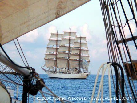 Libertad, Wojtek Wacowski (http://www.voytec.com/), North Sea, Tallships 2000 , 08/2000