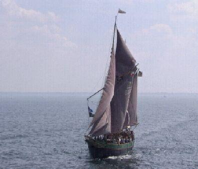 Kajsamoor, Volker Gries, Hanse Sail Rostock 1997 , 08/1997
