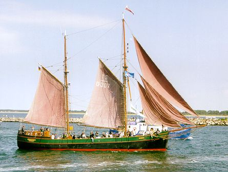 Kajsamoor, Volker Gries, Hanse Sail Rostock 2000 , 08/2000
