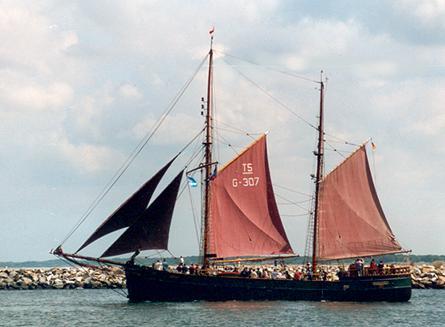 Kajsamoor, Volker Gries, Hanse Sail Rostock 2001 , 08/2001