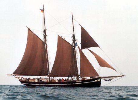 Solvang, Werner Jurkowski, Hanse Sail Rostock 2002 , 08/2002