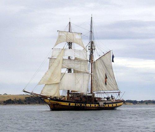 Windeward Bound, Naomi Durdin, River Derwent, Tasmania , 02/2005