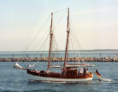 Helene von Maasholm, Volker Gries, Hanse Sail Rostock 2003 , 08/2003
