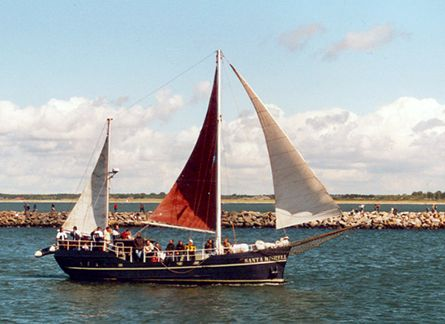 Santa Mishell, Volker Gries, Hanse Sail Rostock 2001 , 08/2001