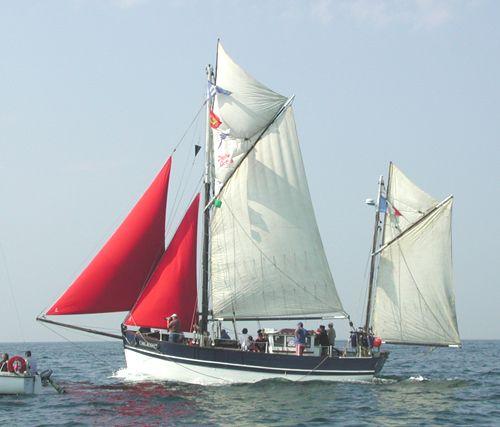 Croix du Sud III, Jean-Marie Deant, Cherbourg , 07/2005