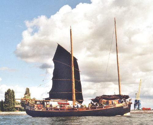 Condor, Werner Jurkowski, Hanse Sail Rostock 2001 , 08/2001