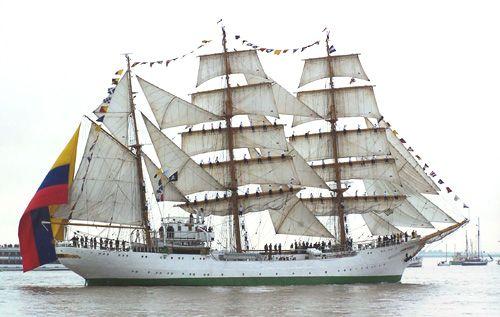 Gloria, Thomas Albert, Sail Bremerhaven 2005 , 08/2005