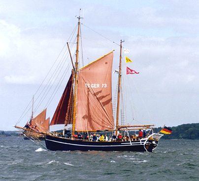 Courage, Volker Gries, Sail Flensburg 2000 / Cutty Sark 2000 , 08/2000