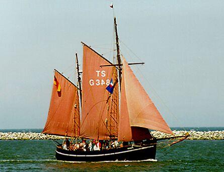 Birgitte, Volker Gries, Hanse Sail Rostock 1997 , 08/1997