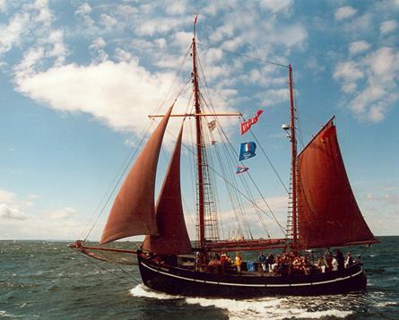 Birgitte, Volker Gries, Hanse Sail Rostock 2001 , 08/2001