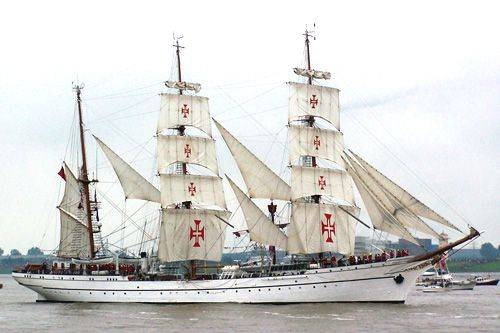 Sagres II, Thomas Albert, Sail Bremerhaven 2005 , 08/2005