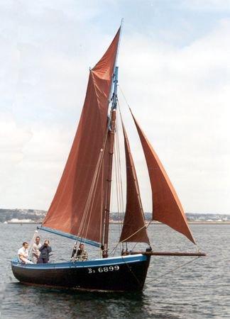Anemone BR6899, Volker Gries, Sail Brest / Cutty Sark 2002 , 07/2002