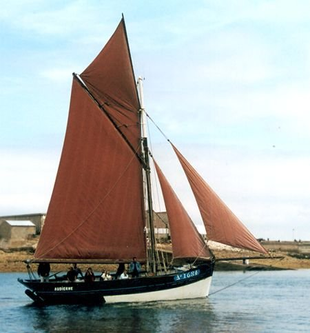Corbeau des Mers AY1684, Volker Gries, Sail Brest / Cutty Sark 2002 , 07/2002